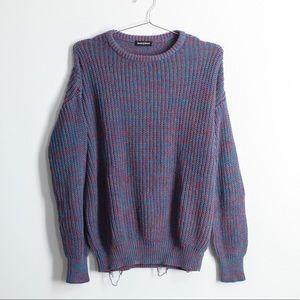 American Apparel Multicolor Fisherman's Sweater